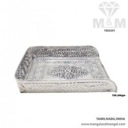 Beauteous Silver Antique Muram