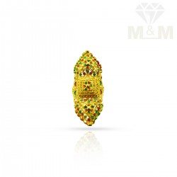 Exquiste Gold Fancy Ring