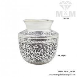 Embellish Silver Antique Sombu
