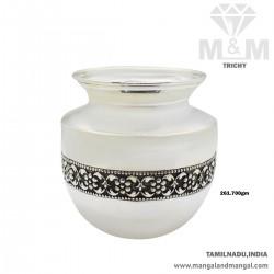 Exquisite Silver Antique Sombu