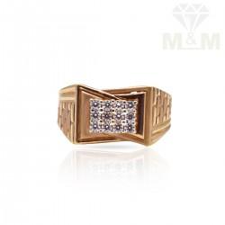 Flamboyant Rose Gold Casting Ring