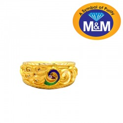 Scenic Gold Fancy Ring