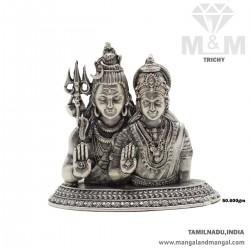 Superb Silver Antique Shiva...
