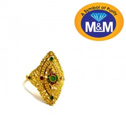 Seductive Gold Fancy Ring