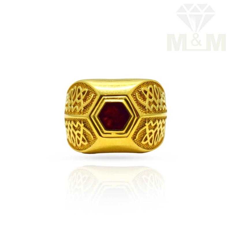 Gold Men Ring