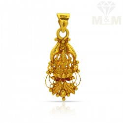 Beauteous Gold Lakshmi Pendant