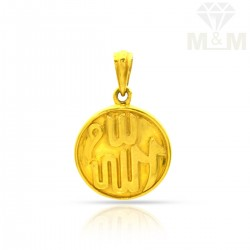 Canny Gold Casting Pendant