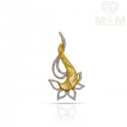 Exciting Gold Casting Pendant