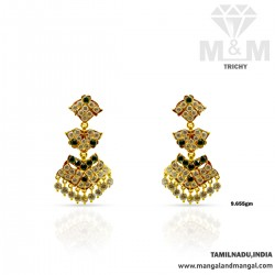 Flamboyant Gold Women Ketti...