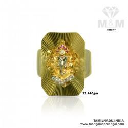 Amazing Gold Men Ganesha Ring