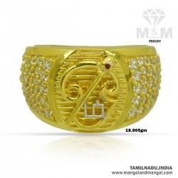 Fabulous Gold Men Om Ring