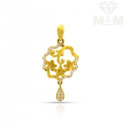 Gentle Gold Casting Pendant