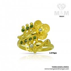 Enormous Gold Women Fancy Ring