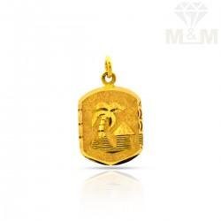 Haunting Gold Fancy Pendant