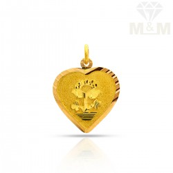 Impossibly Gold Fancy Pendant