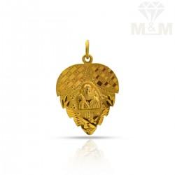 Inspired Gold Saibaba Pendant