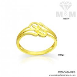 Scenic Gold Women Casting Ring