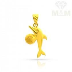 Marvelous Gold Fish Pendant
