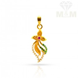 Nice Gold Casting Pendant