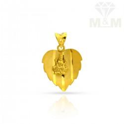Pleasing Gold Casting Pendant