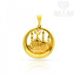 Prettiness Gold Casting Pendant