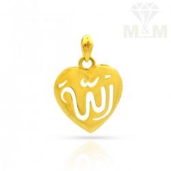 Posh Gold Casting Pendant