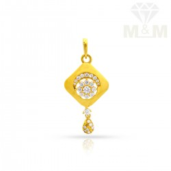 Ancient Gold Casting Pendant