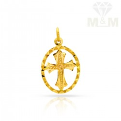 Culture Gold  Cross Pendant