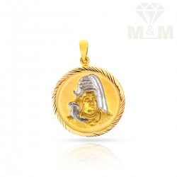 Delectable Gold Fancy Pendant