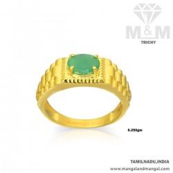 Handsome Gold Women Emerald...
