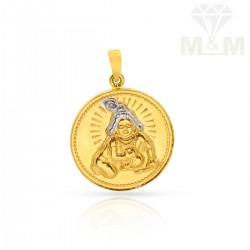 Unrivaled Gold Fancy Pendant