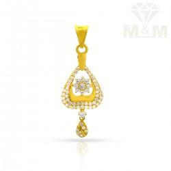 Sumptuous Gold Casting Pendant