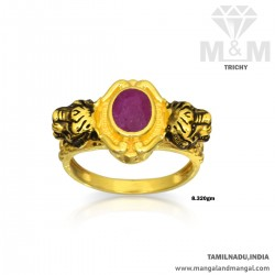 Blessed Gold Women Ruby...
