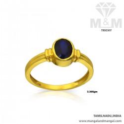 Modern Gold Women Blue...