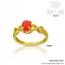 Modern Gold Women Coral...