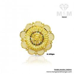 Gorgeous Gold Women Fancy Ring