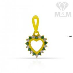 Gorgeous Gold Casting Pendant