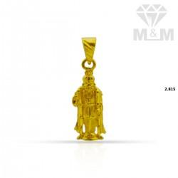 Classy Gold Fancy Pendant