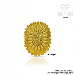 Jazziest Gold Women Fancy Ring