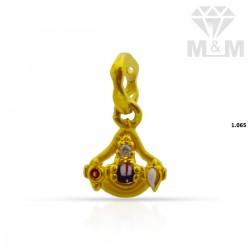 Adorable Gold Balaji Pendant