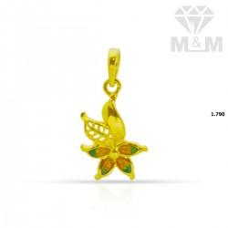 Beautiful Gold Casting Pendant