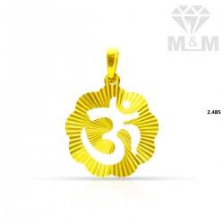 Beautify Gold Fancy Pendant