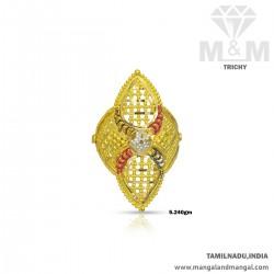 Handsome Gold Women Fancy Ring