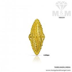 Splendid Gold Women Fancy Ring