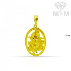 Fantastic Gold Ganesha Pendant