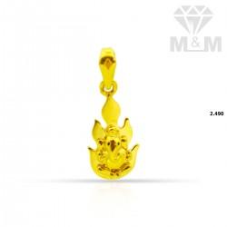 Fascinate Gold Ganesha Pendant