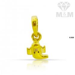 Great  Gold Ganesha Pendant