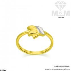 Cute Gold Women Casting Ring