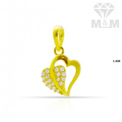 Great Gold Casting Pendant