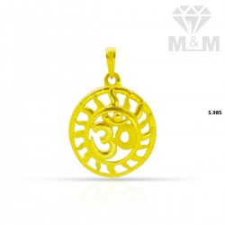 Fine Gold Casting Pendant